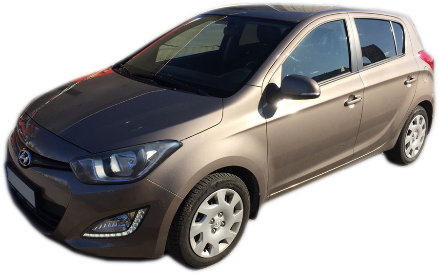 Hyundai i20 automatic for rent