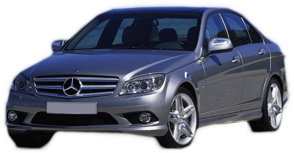 Mercedes Benz C class W204 for rent